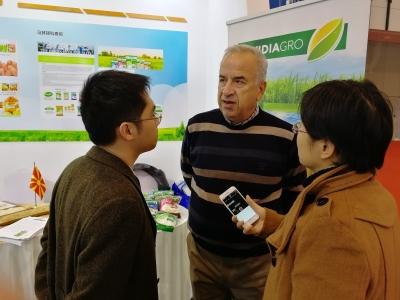 马其顿科查尼市稻米公司董事长来锡洽谈农业合作事宜